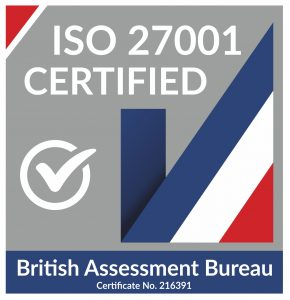 IS 27001 certified